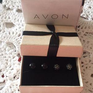 Avon 2011 Pernella Earrings Set With Box Pierced